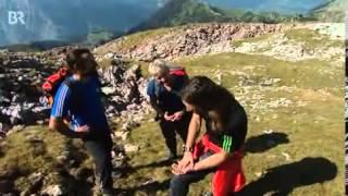 Gipfeltreffen mit den Huberbuam