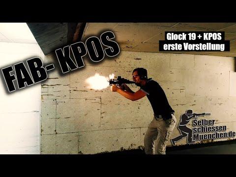 FAB KPOS + Glock 19 - erste Vorstellung