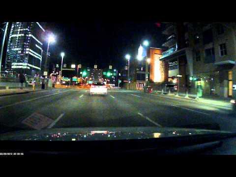 20130329 Night Drive thru Downtown Cincinnati
