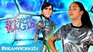 Magic Armor Transformation Trick I Trollhunters Presents JUNK DRAWER MAGIC