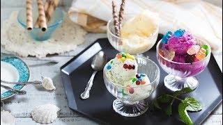 愛買嚐鮮料理:彩色優格冰淇淋