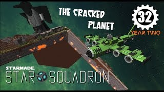 RETURN TO THE CRACKED PLANET   StarMade Multiplayer Gameplay   Star Squadron S2E32