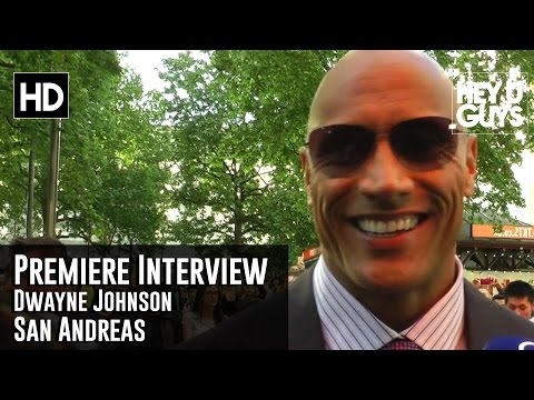 Dwayne Johnson San Andreas World Premiere Interview