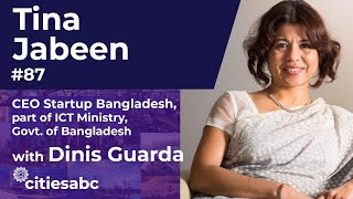Tina Jabeen, CEO MD Startup Bangladesh, Part Of ICT Ministry, Government Of Bangladesh