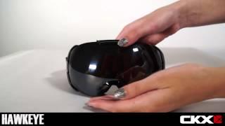 Снегоходные очки CKX со сменным стеклом Specs HawkEye 2