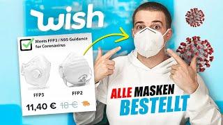 Ich habe alle verschiedene arten von mundschutz masken bei wish gekauft, um zu schauen, welche möglichst schnell ankommen und gute qualität haben.➡️ neuen ka...