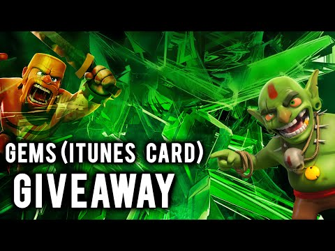 iTunes Card Christmas Giveaway | Free Gems in Clash of Clans
