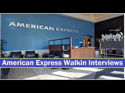 American Express Walkin Interviews   Freshers   Fraud Analyst