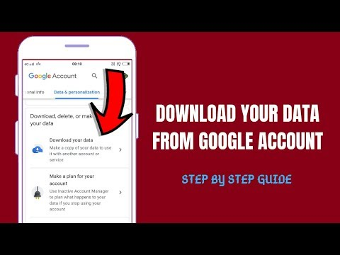 How To Download Data From Google Account 2019   Restore/Download/Backup Data From Google Account