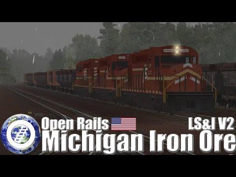 Open Rails (MSTS Compatible Train Sim) - The Lake Superior