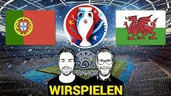 Wir spielen Euro 2016: Portugal scheitert an Wales (1. Halbfinale)