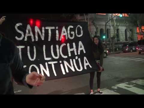 Protesta por Santiago Maldonado en Lomas de Zamora (20/10/2017)