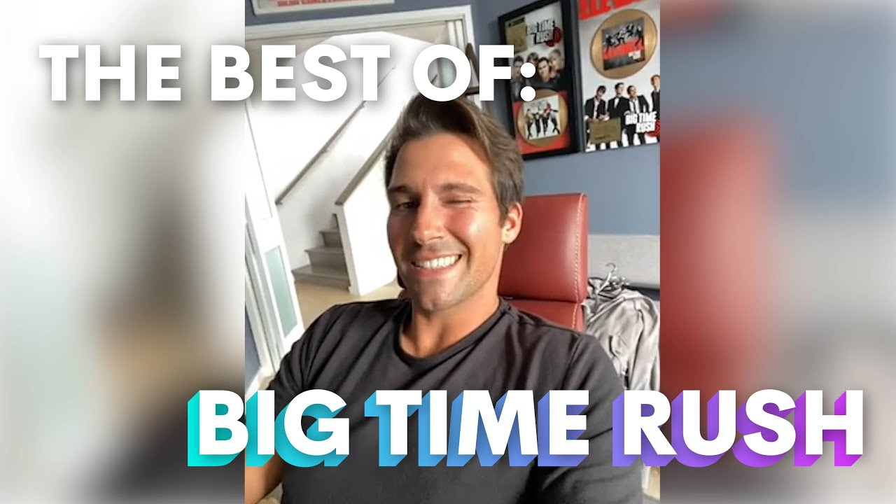 Big Time Rush Overload! Sit Back and Enjoy the Best Moments from Nickelodeon's BTR on Cameo I Cameo