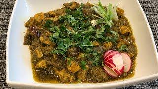 Spicy Green Chicken Curry by Suganthi (Su)