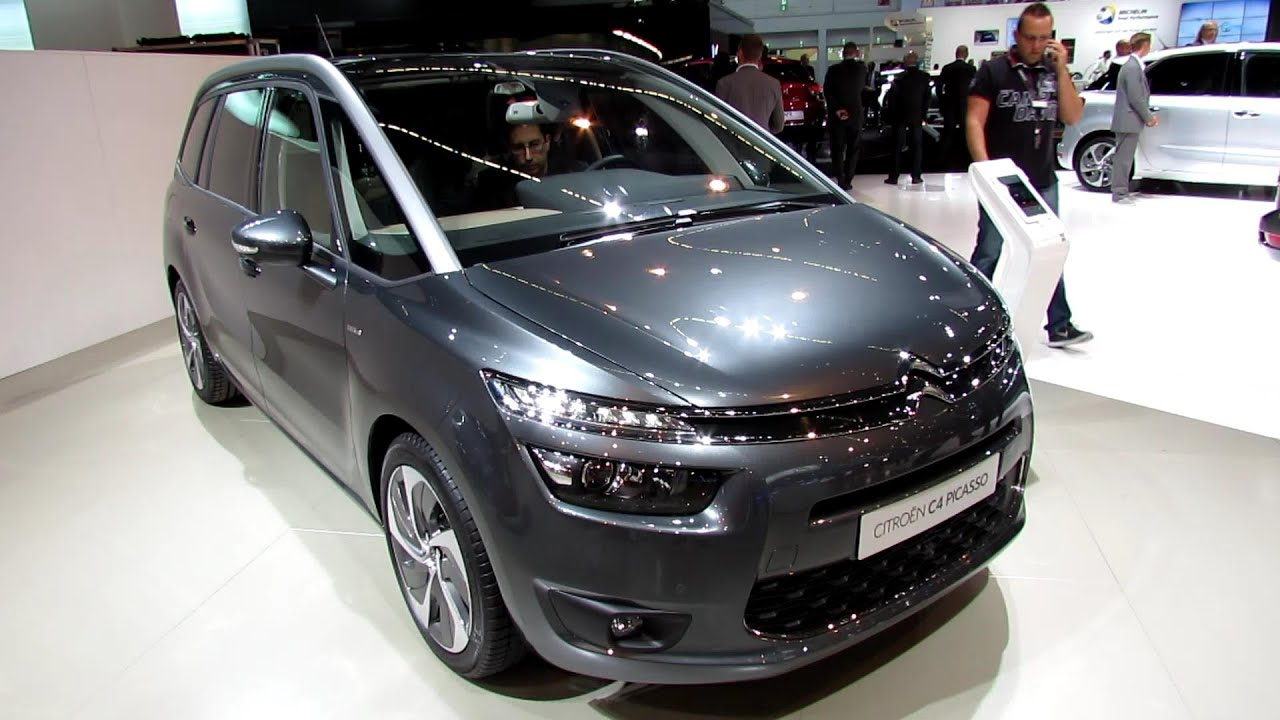 test drive citroen c4 grand picasso 2014