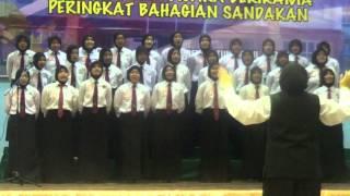 bicara berirama SMK Merpati Sandakan 2014