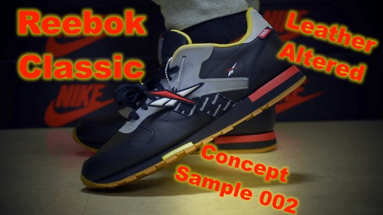b22a000aea2 Reebok Classic Alter The Icon Collection (On Foot Review) - YouTube