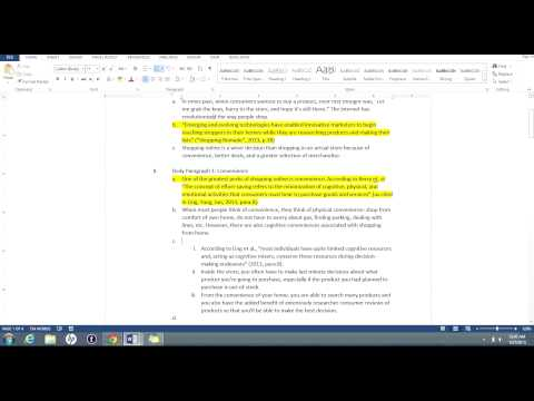 Research Essay Outline Tutorial