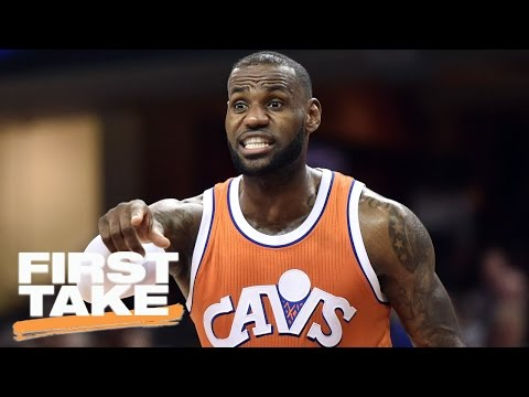 LeBron James' 'Cry Baby' Tendencies Are Nothing New | First Take | April 3, 2016