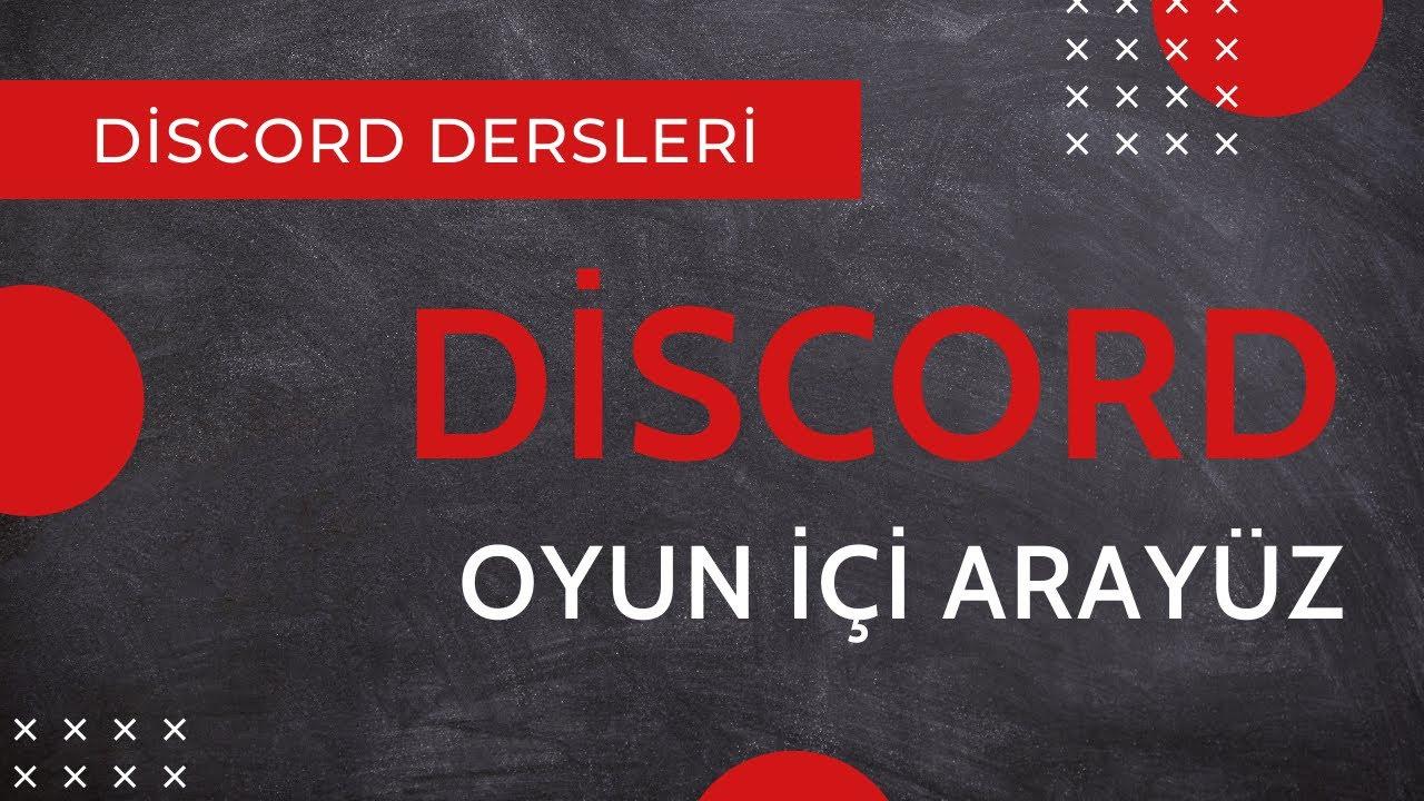 DİSCORD OYUN İÇİ ARAYÜZ l CYBERANDRA