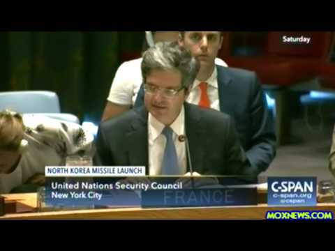 United Nations Security Council Meeting On North Korea Sanct
