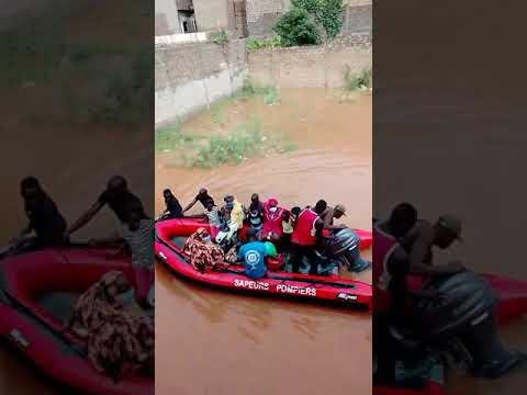 Inondations au Sénégal : des évacuations à Keur Massar, en banlieue de Dakar