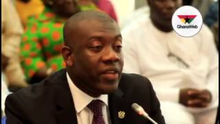 Kojo Oppong-Nkrumah appears before Appointments Committee - Highlights