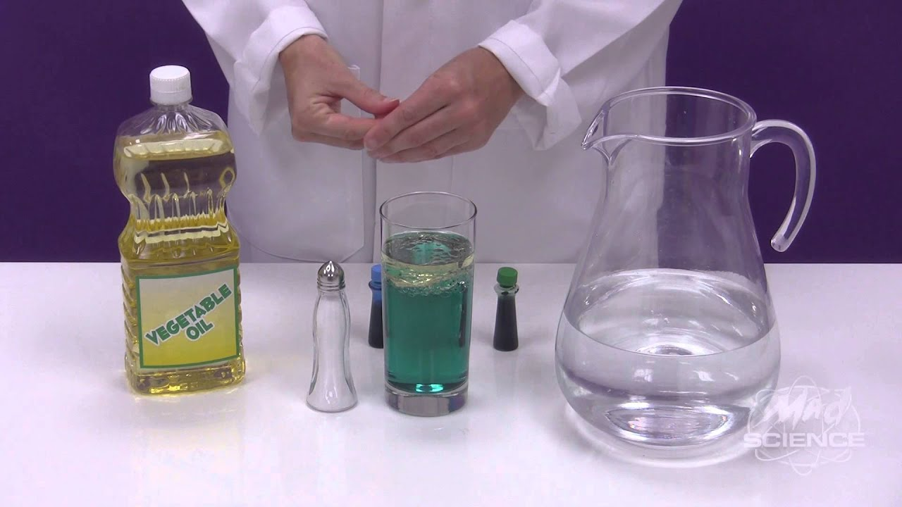 Salt Lamps Scientific Research : Make a Salt Lava Lamp - Mad Science - YouTube