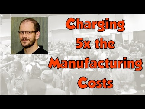 Game Production - Charging 5x the Manufacturing Price