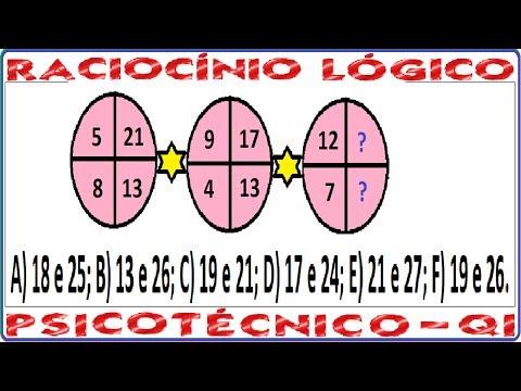 Raciocínio Lógico Figuras e imagens Teste psicotécnico QI Quociente Inteligência Detran Concurso RLM de YouTube · Duração:  3 minutos 51 segundos