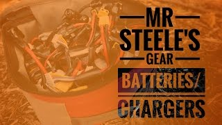 mr steele s gear batteries chargers spares