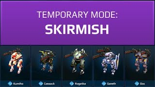 War Robots Skirmish Mode Gameplay
