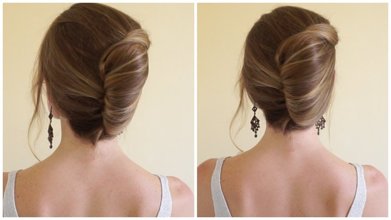 French twist youtube french twist style yourself beautiful solutioingenieria Images