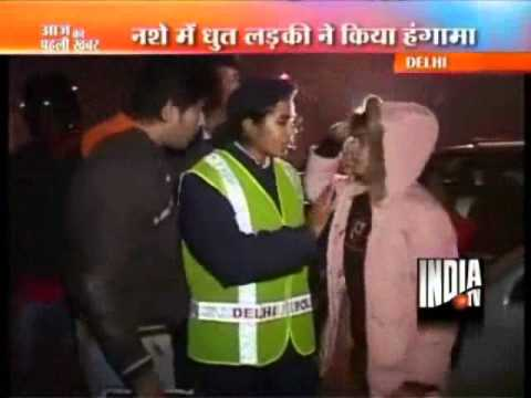 Delhi Traffic Police Challans  Drunk Drivers  On New Year Eve Mp3