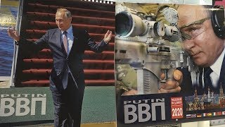 Lịch in hình ông Putin phá vỡ kỷ lục bán hàng tại Nhật Bản