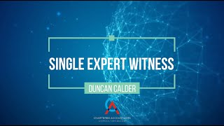Family Law | Choosing a Single Expert Witness