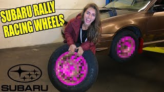 The Rebuilt Subaru Wagon MEATY RALLY WHEEL Reveal! *TIGHT-FIT*