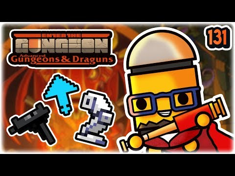 Robo Toes Synergy   Part 131   Let's Play: Enter the Gungeon Advanced Gungeons and Draguns