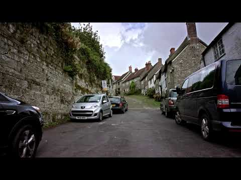 Gold Hill - Dorset - England