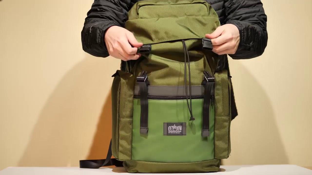 6917bff24752 Manhattan Portage Twin Island Backpack Ver.2 - YouTube