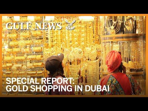 Gold shopping in Dubai