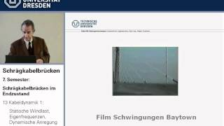 Schrägkabelbrücken - Vorlesung Nr. 13 von Holger Svensson an der TU Dresden vom 18.1.2011