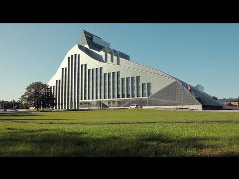 Castle of Light - main venue of presidency events in Latvia