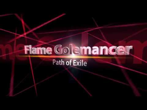 [3.3] Flame Golemancer - Path of Exile
