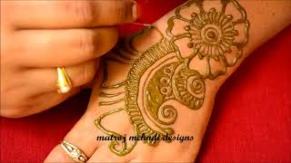 Raksha Bandhan Special Mehndi Designs 2018-Easy Mehndi Designs-Simple Mehndi Designs