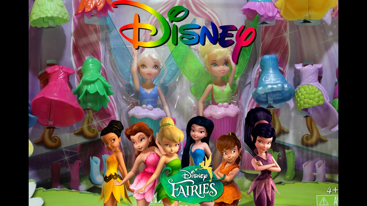 Disney Fairies Tinker Bell Amp Periwinkle Share N Wear Toy