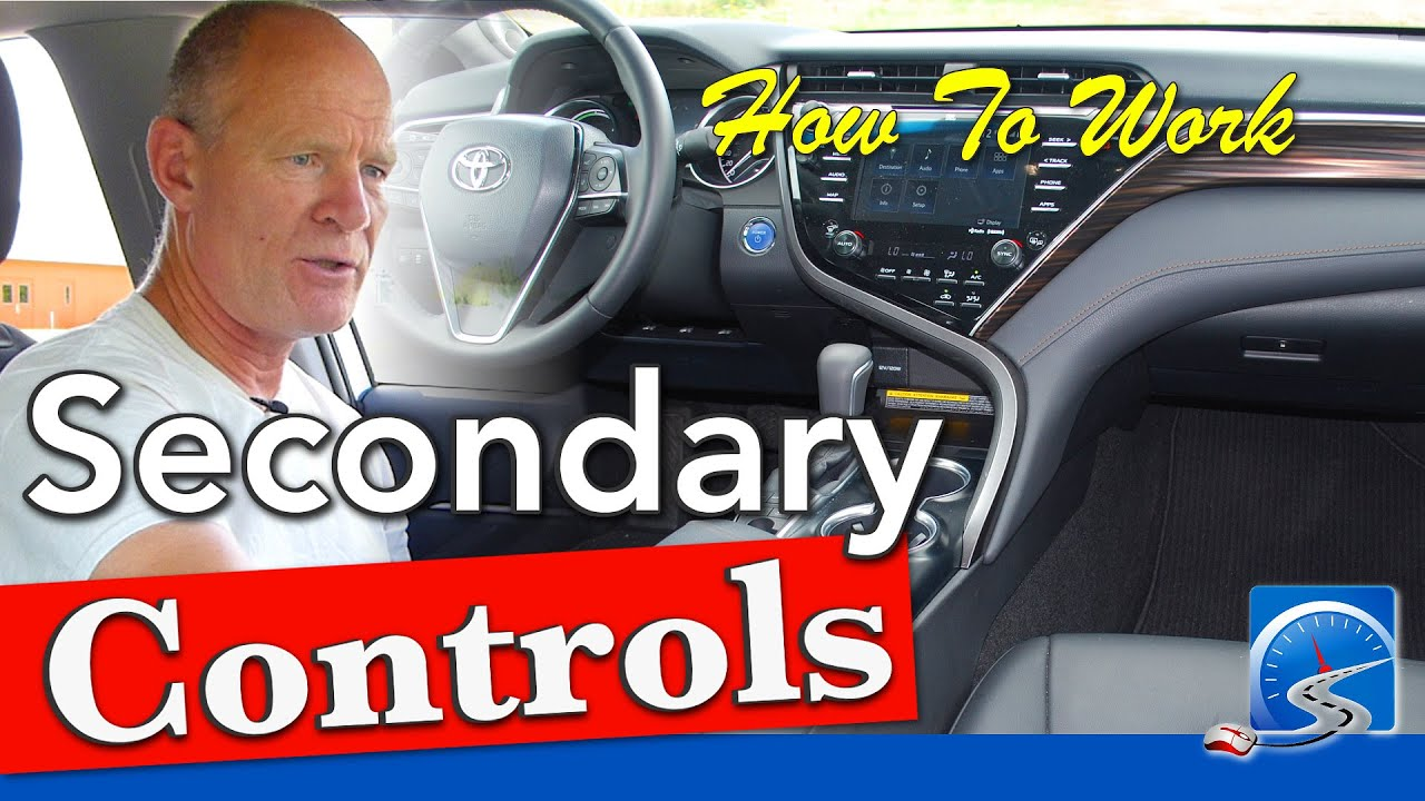 How to Work Your Car's Secondary Controls