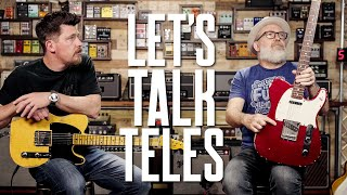 Let's Talk About Fender Telecasters [And T-Shaped Objects £139 - £Thousands] - That Pedal Show