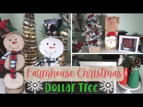 DIY Dollar Tree Christmas Farmhouse Decor   3 DIY Rustic Christmas Decor 2018