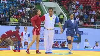 Сборная Монголии одержала победу на 25-м чемпионате Азии по самбо. ФОТО и ВИДЕО